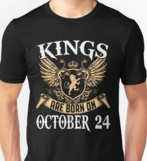 Kings Legends Are Born On October 24 T-Shirt