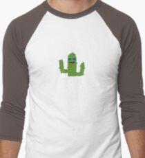Cool Cactuses born in AUGUST Rk6nc Men's Baseball ¾ T-Shirt