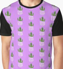 Cool Cactuses born in AUGUST Rk6nc Graphic T-Shirt