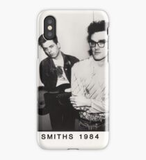 The Smiths- 1984 Vintage Design iPhone Case/Skin
