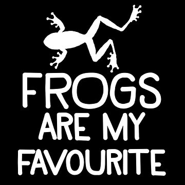 Frogs are my favourite by jazzydevil