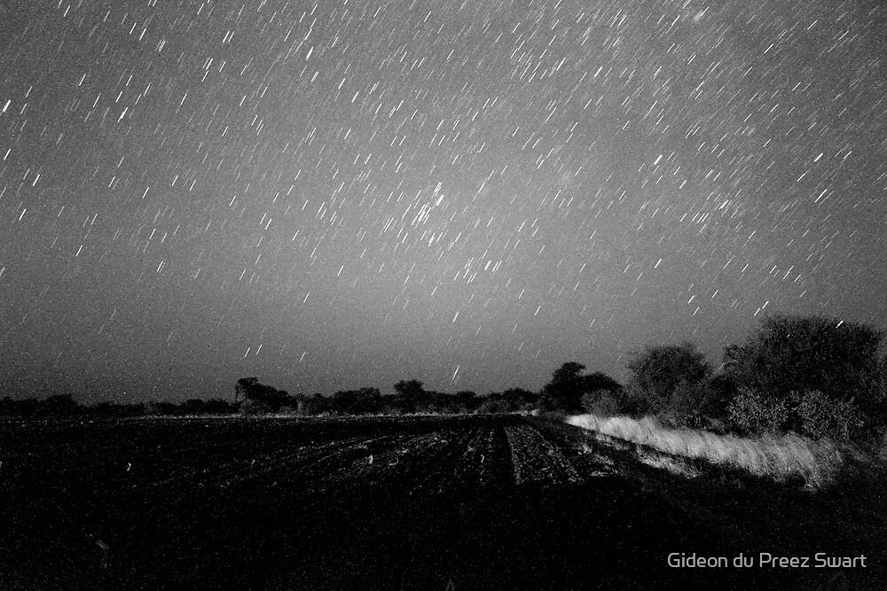 star rain with grain by Gideon du Preez Swart