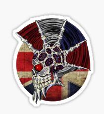 Punk Skull - Union Jack BG Sticker
