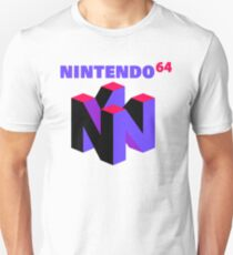 N64 Purple Logo T-Shirt