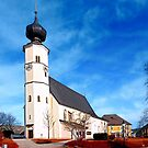 The village church of Sankt Veit / Mkr II | architectural photography by Patrick Jobst