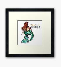 Maiden Mermaid Framed Print