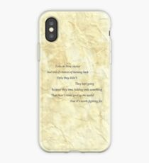 samwise the brave speaks iPhone Case