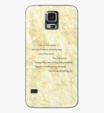 samwise the brave speaks Case/Skin for Samsung Galaxy