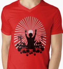 DJ SUNRISE SET Men's V-Neck T-Shirt