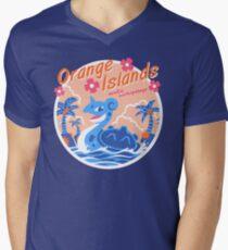 Orange Islands Men's V-Neck T-Shirt