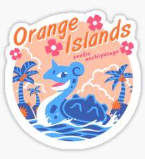 Pegatina Islas Orange