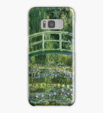Claude Monet - Water Lilies and Japanese Bridge Samsung Galaxy Case/Skin