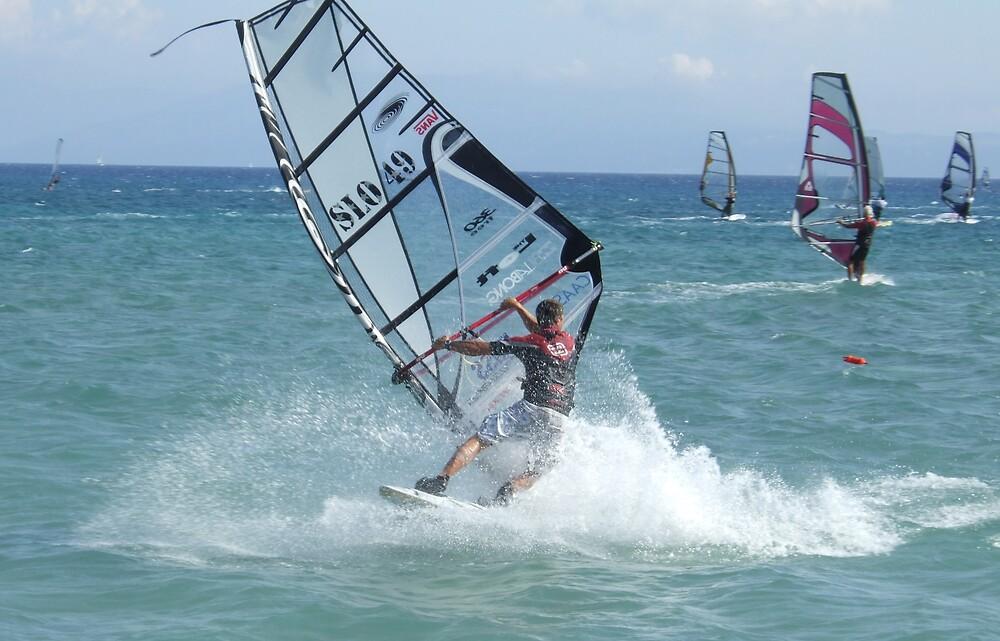 windsurfing by juliecronin