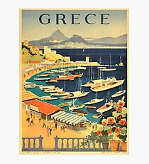 Vintage poster - Grece Photographic Print