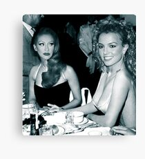 FEUD: BRITNEY AND CHRISTINA Canvas Print