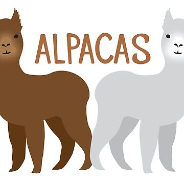 ALPACAS grey and brown by jazzydevil