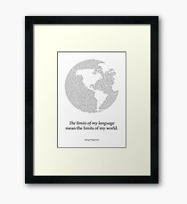Wittgenstein Framed Print
