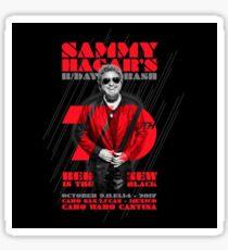 Sammy Hagar And The Circle 70TH Tour 2017 Sticker