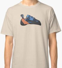 Evolv Klettern Schuh Illustration / / Klettern Grafik Classic T-Shirt