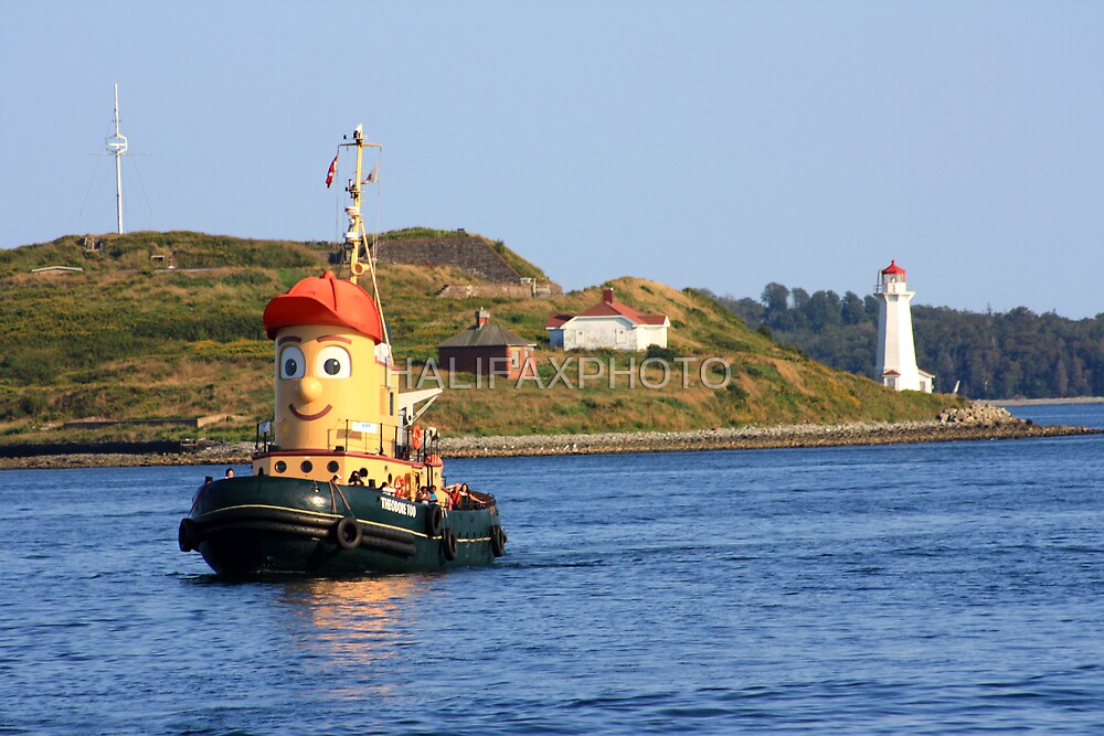 Theodore Tugboat by HALIFAXPHOTO