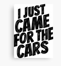 for the cars 7 Canvas Print