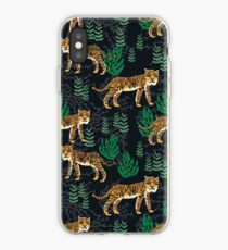 Safari Tiger Pattern by Andrea Lauren iPhone-Hülle & Cover