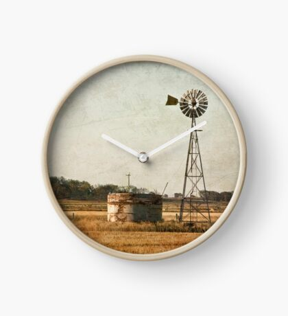 late in the day Clock