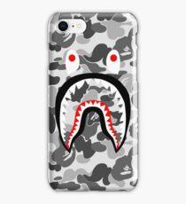 White sark pattern iPhone Case/Skin