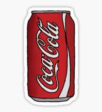 Coca Cola Can Sticker