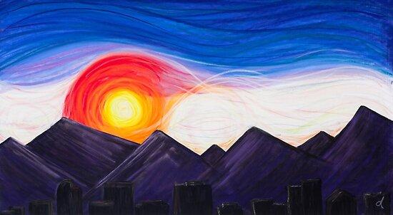 Denver Sunset by danastrotheide