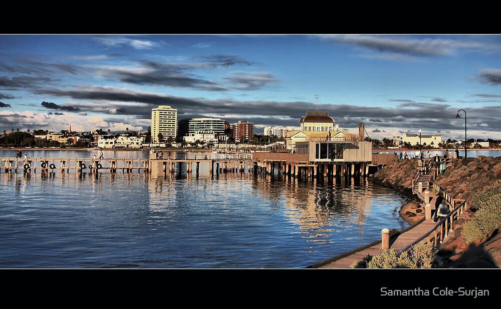 St Kilda Pier from Behind by Samantha Cole-Surjan