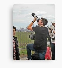 Now This Camera Means Business! Canvas Print