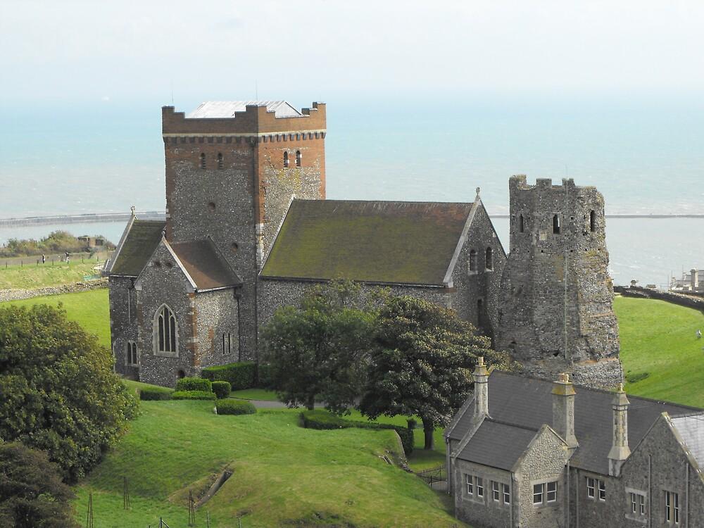 saxon church by shanescott