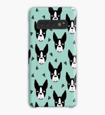 Boston Terrier - Mint Case/Skin for Samsung Galaxy