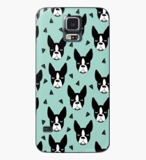 Boston Terrier - Mint Case/Skin for Samsung Galaxy