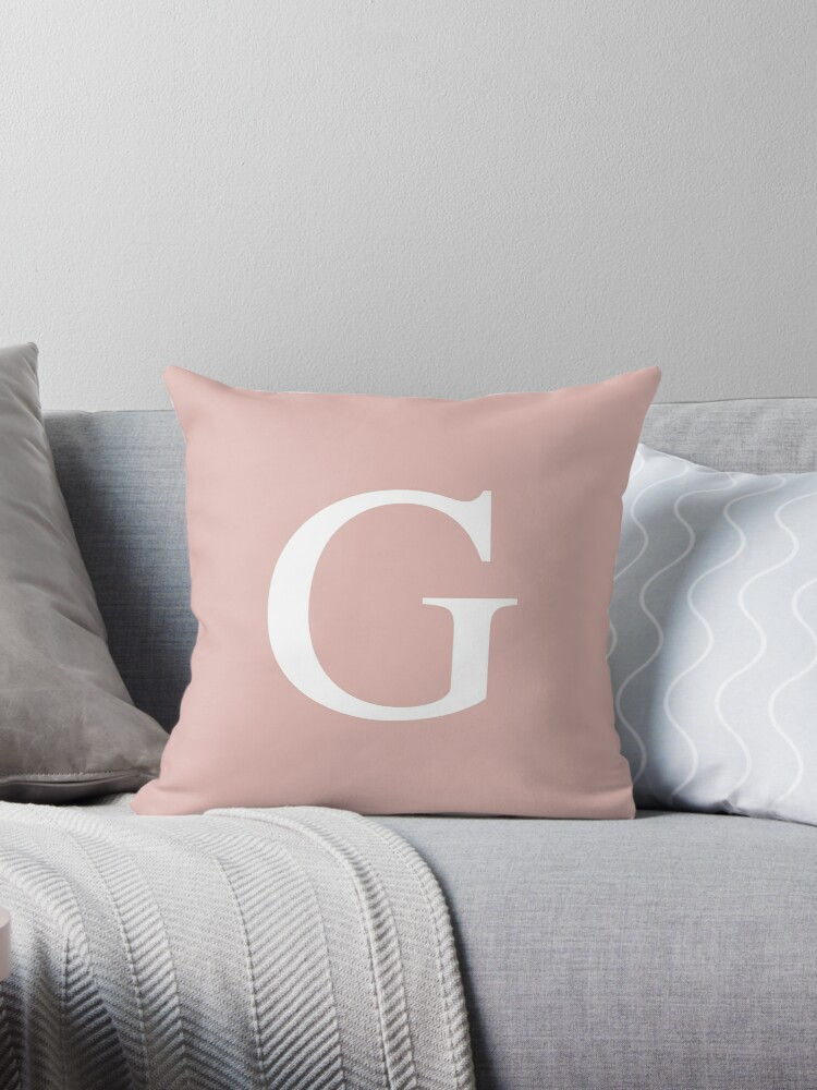 Rose Gold Basic Monogram G by rewstudio