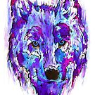 Wolf by Calum Margetts Illustration
