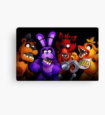 WELCOME TO FREDDY'S Canvas Print