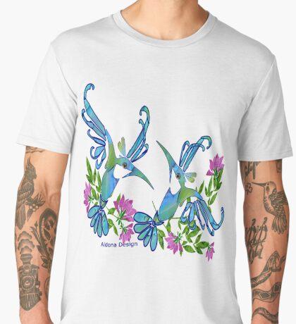 Birds & Flowers Men's Premium T-Shirt