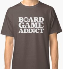 Board Game Addict for a Board Game Geek Classic T-Shirt