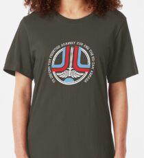 Greetings, Starfighter Slim Fit T-Shirt
