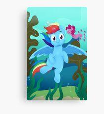 MLP - Underwater Canvas Print