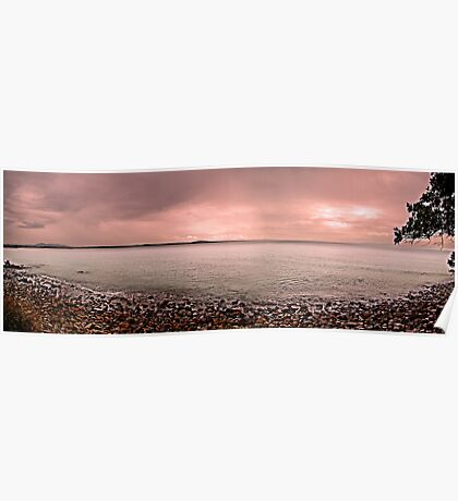 Waterscape: QLD, View from Noosa National Park, Sunshine Coast, Queensland Poster