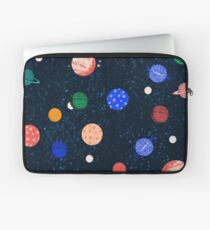 Cosmic Planets by Andrea Lauren Laptop Sleeve