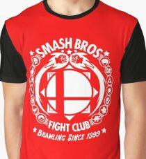 Camiseta gráfica Super Smash Bros Fight Club