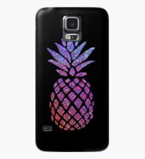 Colorful Glitter Pineapple Case/Skin for Samsung Galaxy