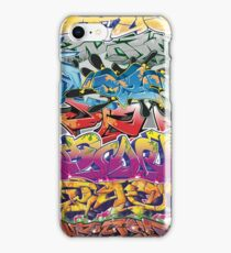 Graffiti Montage iPhone Case/Skin