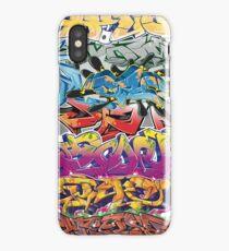 Graffiti Montage iPhone Case/Skin