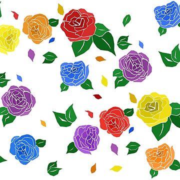 lgbt+ roses. by varnel