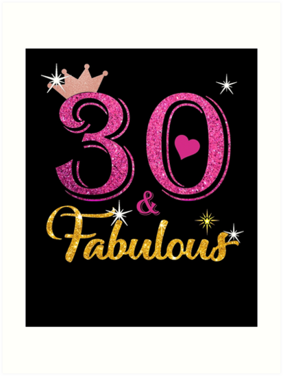 30 Fabulous Queen 30th Birthday Gifts